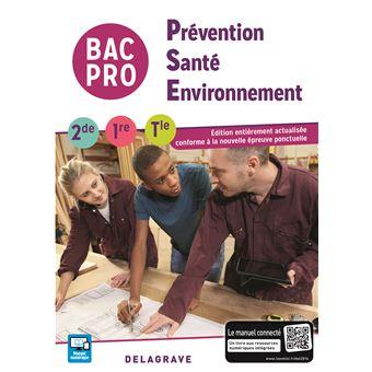 Pr vention sant environnement pse 2de 1 re term bac - Pse bac pro ...