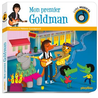 Livre Musical Mon Premier Goldman