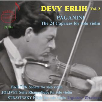 The 24 Caprices for solo violin Devy Erlih Edition Volume 2