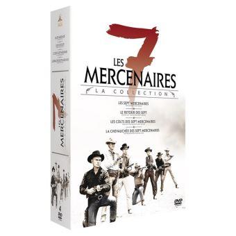 Coffret Les Sept Mercenaires 4 films Edition Collector DVD