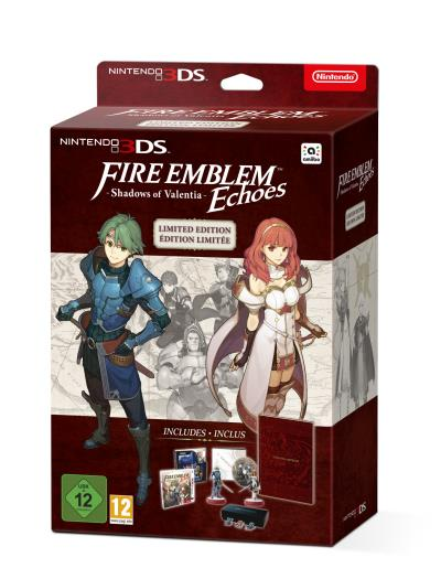 Fire Emblem Echoes Shadows of Valentia Edition limitée Nintendo 3DS