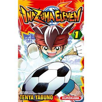 livre manga inazuma eleven