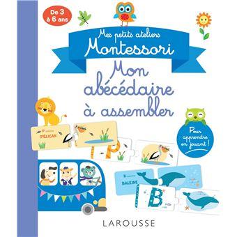 Mes petits ateliers Montessori, Mon abécédaire Montessori