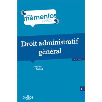 Droit administratif général - Nouveauté