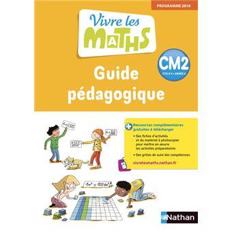Vivre les Maths CM2 Cycle 3 Année 2