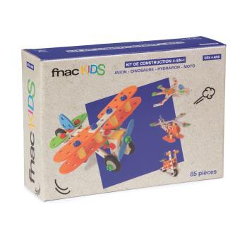 Kit de construction 4 en-1 Fnac Kids 85 pièces