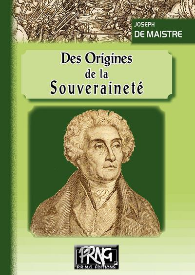 Des origines de la souveraineté