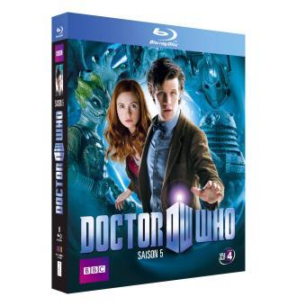 Doctor WhoCoffret Doctor Who Intégrale de la Saison 5 Blu-ray