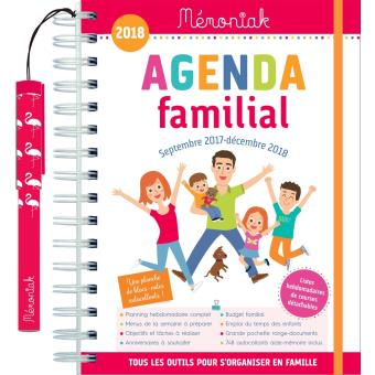 Agenda familial m moniak 2017 2018 broch collectif - Agenda 2018 original ...