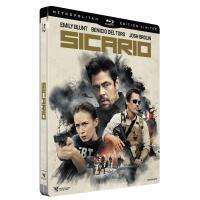 Sicario Steelbook Blu-ray