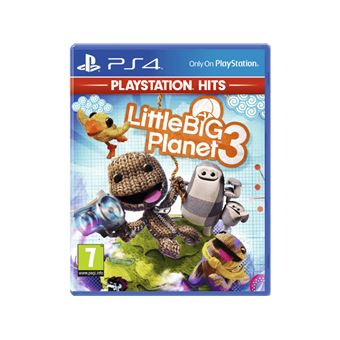 LITTLEBIGPLANET 3 PLAYSTATION HITS FR/NL PS4