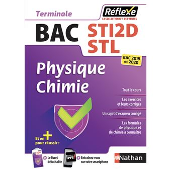 Physique-Chimie - Term STI2D/STL (Guide réflexe N°16) - 2018