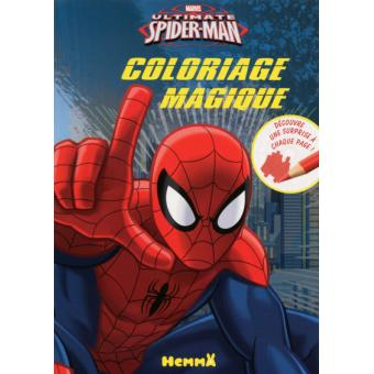 Spider man coloriage magique marvel ultimate spiderman - Coloriage magique spiderman ...