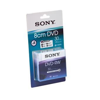 Sony DMW30AJ - DVD-RW (8cm) x 5 - 1.4 GB