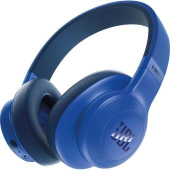 casque jbl e55 bluetooth bleu casque sans fil achat prix fnac. Black Bedroom Furniture Sets. Home Design Ideas