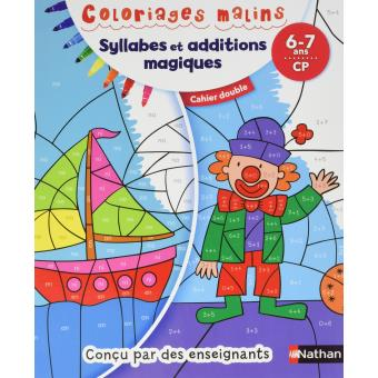 Coloriages malins Duo Syllabes et additions magiques CP