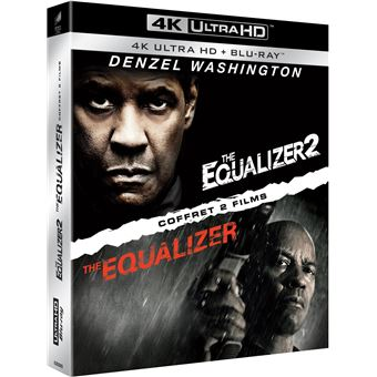 EqualizerCoffret Equalizer 1 et 2 Blu-ray 4K Ultra HD