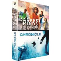Coffret Darkest Minds : Rébellion et Chronicle DVD