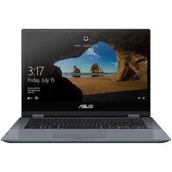 """PC Hybride Asus VivoBook Flip TP412UA-EC047T 14"""" Tactile"""