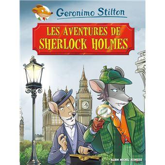 Geronimo Stilton - Classiques Tome 11 : Les aventures de Sherlock Holmes