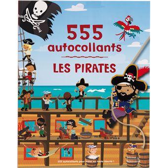Les Pirates - 555 autocollants