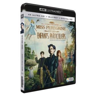 Miss Peregrine et les enfants particuliers Blu-ray 4K Ultra HD