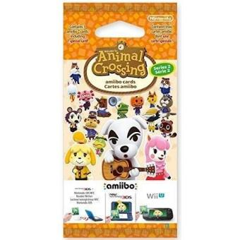 Paquet de 3 Cartes Animal Crossing Série 2