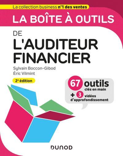 La boite à outils de l'auditeur financier - 2e éd. - 9782100812912 - 14,99 €