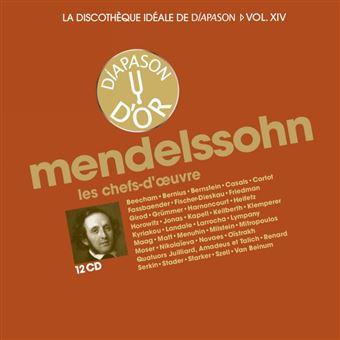 La discothèque idéale de Diapason Volume 14 Mendelssohn : Les chefs-d'œuvre