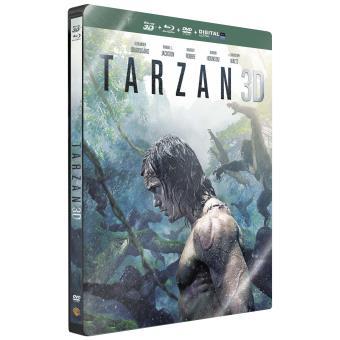 Tarzan Steelbook Combo Blu-Ray 3D + 2D + DVD