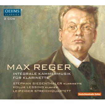 MAX REGER:INTEGRALE KAMMERMUSIK/2CD