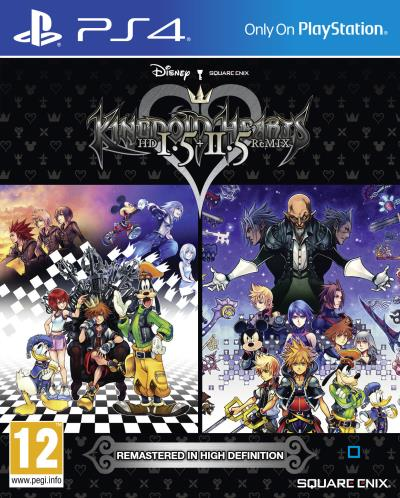 Kingdom Hearts HD I.5 + II.5 ReMIX PS4