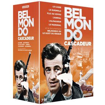 Coffret Belmondo Cascadeur DVD