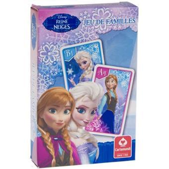 Jeu de 7 Familles Frozen La Reine des Neiges Cartamundi
