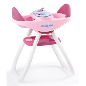 chaise haute jumeaux baby nurse smoby accessoire poup e achat prix fnac. Black Bedroom Furniture Sets. Home Design Ideas