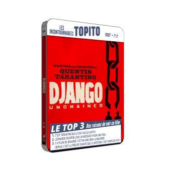 Django unchained Boîtier métal Combo Blu-ray + DVD