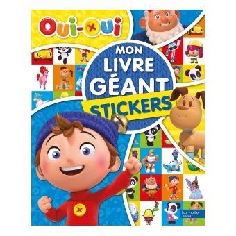 Oui-OuiOui-Oui - Mon Livre géant - Stickers