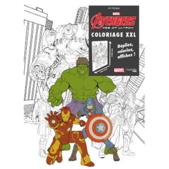 Avengers age of ultron avengers nicolas beaujouan - Coloriage avengers 2 ...