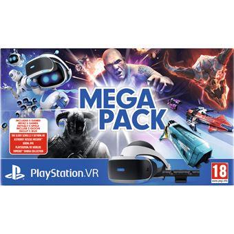 Casque VR Sony Mega Pack pour PS4