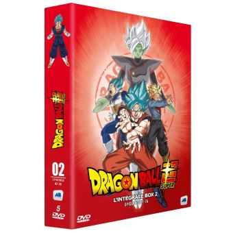 Dragon Ball SuperDragon Ball Super L'intégrale Box 2 DVD