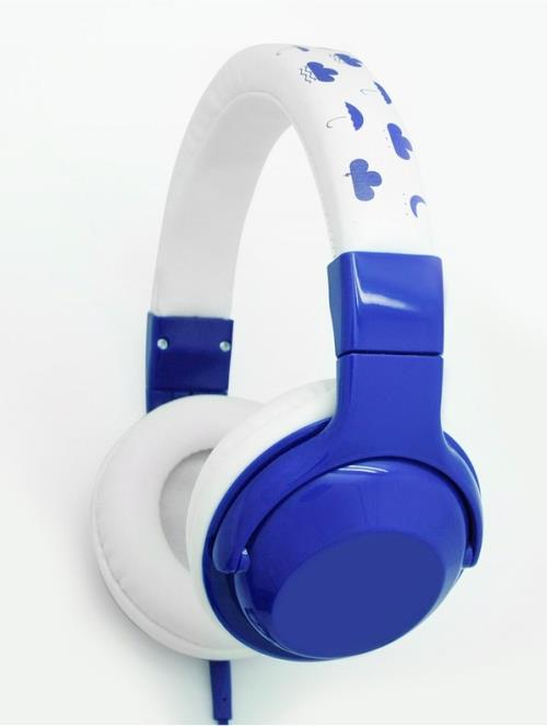 Casque Dcybel KidSound Bleu et blanc