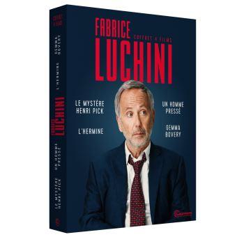 Coffret Fabrice Luchini 4 Films DVD
