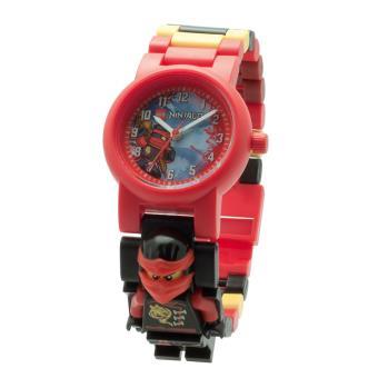 montre enfant lego ninjago sky pirates kai rouge - Ninjago Rouge