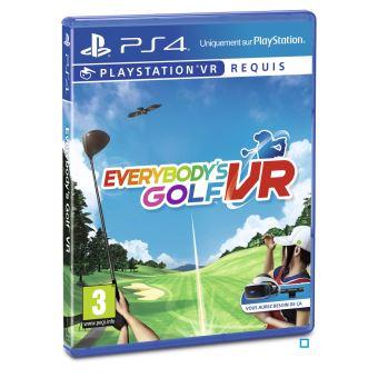 Everybody's Golf PS4 VR