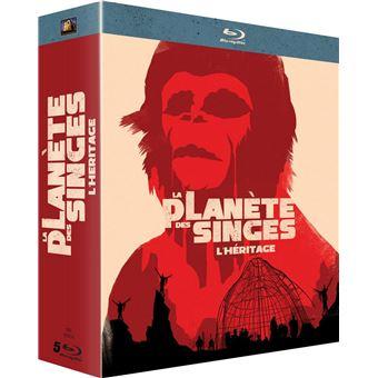 La planète des singesCoffret La Planète des Singes : L'Héritage Blu-ray