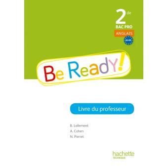 Be ready ! 2de Bac Pro - Livre professeur