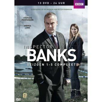 Inspector Banks - Seizoen 1-5 -NL