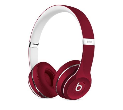 beats solo 2 luxe edition rouge casque audio