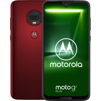 SMARTPHONE MOTOROLA MOTO G7 PLUS VIVA RED 4G 6,2'' 64GB