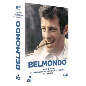 Coffret Jean-Paul Belmondo 3 Films DVD